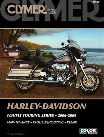 Harley-Davidson FLH & FLT Touring Series 2006 - 2009 (Includes CD Rom)Clymer Owners Service & Repair Manual