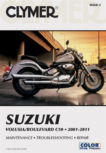 Suzuki Volusia 2001 - 2004 & Suzuki Boulevard C50 2001 - 2011