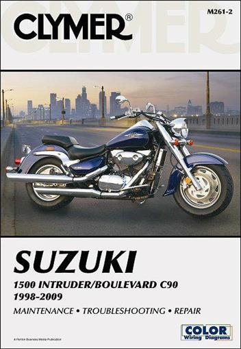 Suzuki 1500 Intruder & Boulevard C90 1998 - 2009
