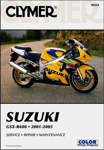 Suzuki GSXR600 2001 - 2005