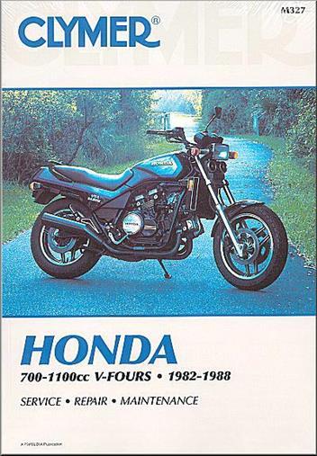 Honda Vf700  Vf750  V45 Sabre  Vf1100  V65 Magna  Sabre V