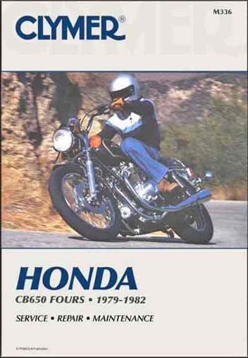 Honda CB650 1979 - 1982 Clymer Owners Service & Repair Manual