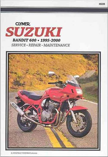 Suzuki GSF600 Bandit 600 1995 - 2000 Clymer Owners Service & Repair Manual