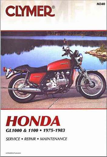 Honda Gold Wing GL1000 & GL1100 1975 - 1983