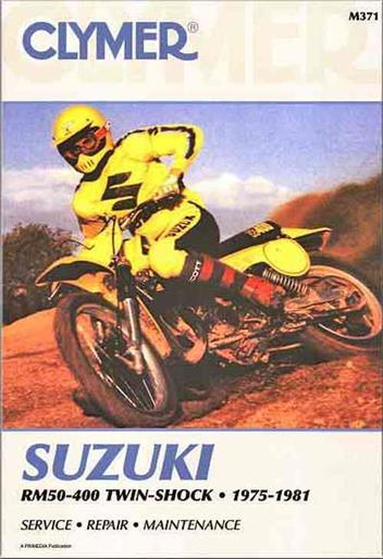 Suzuki Rm50  Rm60  Rm80  Rm100  Rm125  Rm250  Rm370  Rm400
