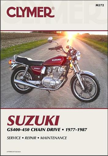 Suzuki GS400, GS425, GS450 Twin-Cylinder 1977 - 1987