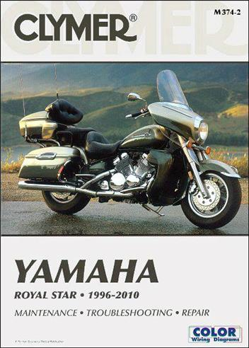 Yamaha Royal Star 1996 - 2010 Clymer Owners Service & Repair Manual