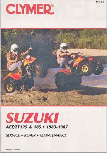 Suzuki ALT125, LT125, ALT185, LT185 1983 - 1987
