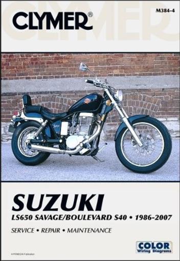 Suzuki LS650 Savage & Boulevard 1986 - 2007 Clymer Owners ... on