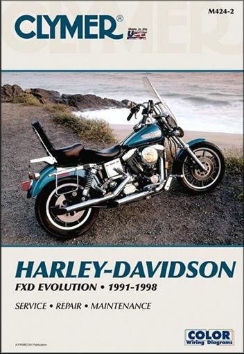 Harley-Davidson FXD Evolution 1991 - 1998 Clymer Owners Service & Repair Manual