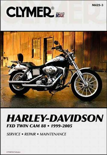 Harley Davidson FXD Twin Cam 88 1999-2005 Clymer Owners Service & Repair Manual