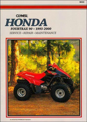 Honda Fourtrax 90 1993 - 2000 Clymer Owners Service & Repair Manual