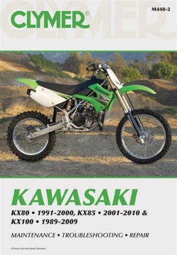 Kawasaki KX80, KX85 & KX100 1989 - 2010 Clymer Owners Service & Repair Manual