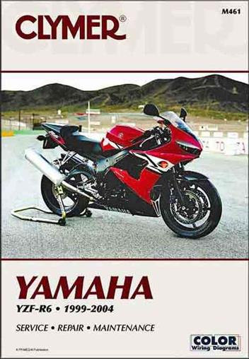 Yamaha YZF-R6 1999 - 2004 Clymer Owners Service & Repair Manual