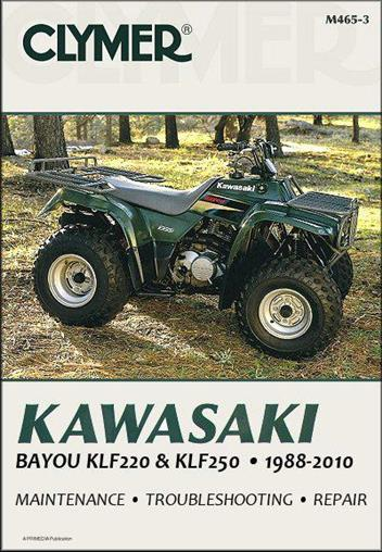 Kawasaki Bayou KLF220 & KLF250 1988 - 2010 ATV