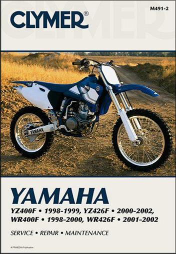 Yamaha YZF400F, YZ426F, WR400F & WR426F 1998 - 2002