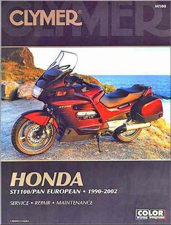Honda ST1100 Pan European 1990 - 2002 Clymer Owners Service & Repair Manual