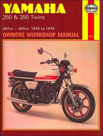 Yamaha RD250, RD350, YDS7 & YR5 Twins 1970 - 1979