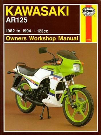Kawasaki AR125 1982 - 1994 Haynes Owners Service & Repair Manual