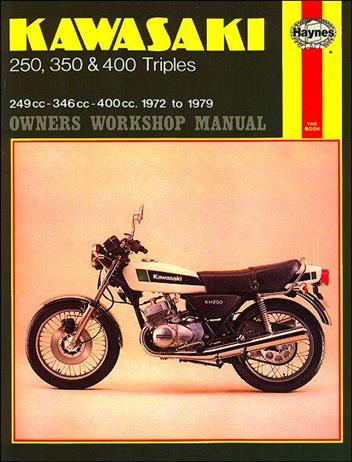 Kawasaki 250, 350 & 450 Triples 1972-1979 Haynes Owners Service & Repair Manual