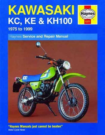 KAWASAKI KH S SERIES S1 S2 KH250 KH400 WORKSHOP SERVICE REPAIR /& PARTS MANUAL