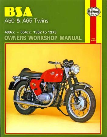 BSA A50 & A65 Twins 1962 - 1973 Haynes Owners Service & Repair Manual