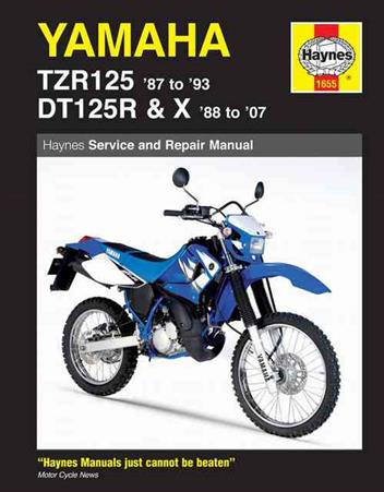 Yamaha TZR125 1987 - 1993 & DT125R/X 1988 - 2007