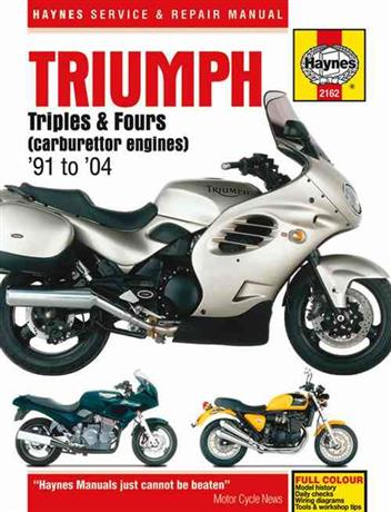 Triumph Triples & Fours (carburettor engines) 1991 - 2004