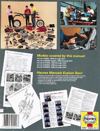 Honda CR80R/RB, CR85/RB, CR125R, CR250R & CR500R 1986 - 2007