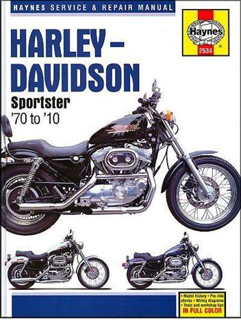 harley davidson sportsters 1970 2010 haynes owners service rh motorcycleworkshopmanuals bike 1992 FXDB Daytona 2010 fxdb owners manual