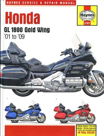 Honda GL1800 Gold Wing 1800 2001 - 2009 Haynes Owners Service & Repair Manual