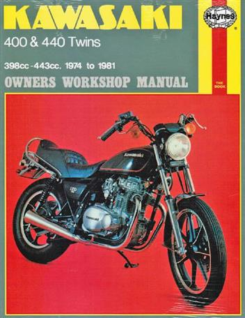 Kawasaki 400 & 440 Twins 1974 - 1981 Haynes Owners Service & Repair Manual