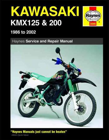 Kawasaki KMX125 & 200 1986 - 2002 Haynes Owners Service & Repair Manual