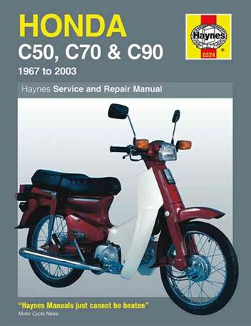 Honda C50, C70 & C90 1967 - 2003 Haynes Owners Service & Repair Manual
