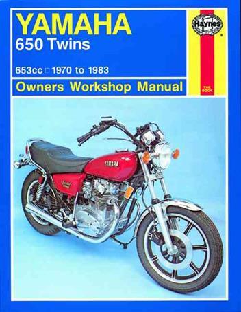 Yamaha 650 Twins 1970 - 1983 Haynes Owners Service & Repair ... on