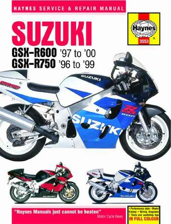 Suzuki GSX-R600 & GSX-R750 Fours 1996 - 2000