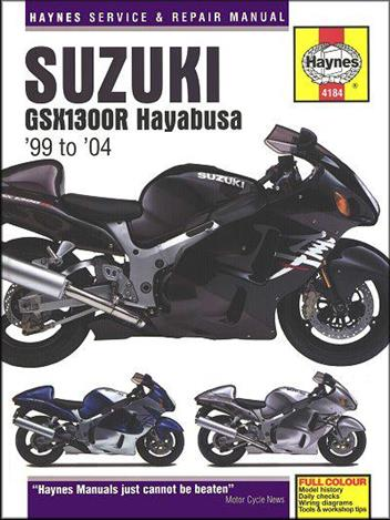 Suzuki GSX1300R Hayabusa 1999 - 2004 Haynes Owners Service & Repair Manual