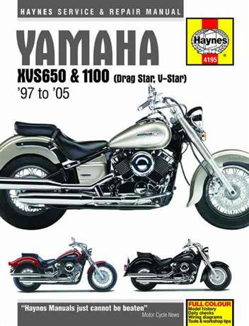 Yamaha XVS650 & 1100 Drag Star / V-Star 1997 - 2005