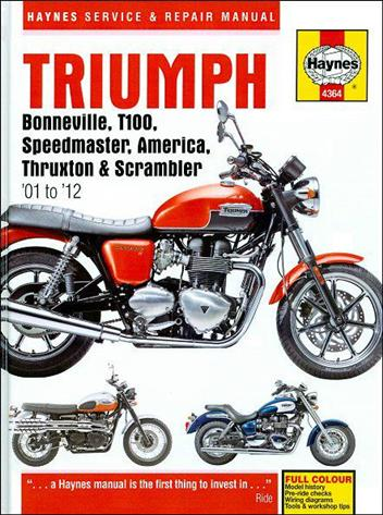 triumph bonneville t100 speedmaster america thruxton scrambler rh motorcycleworkshopmanuals bike triumph t100 manual 2012 2011 2013 triumph bonneville t100 repair manual download