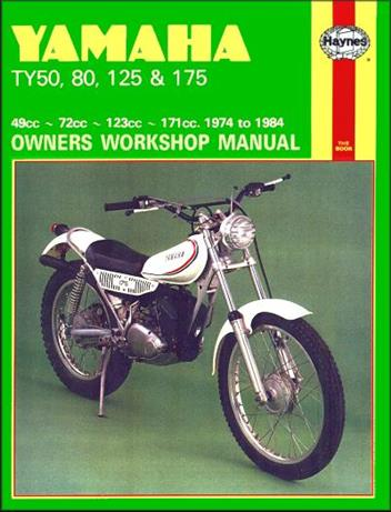 Yamaha TY50, TY80, TY125 & TY175 1974 - 1984