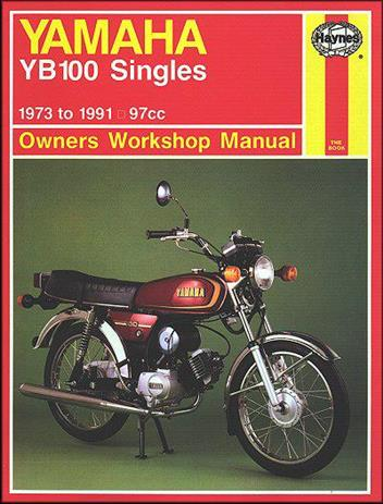 Yamaha YB100 Singles 1973 - 1991 Haynes Owners Service & Repair Manual