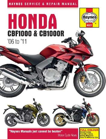 Honda CBF1000 2006 - 2010 & CB1000R 2009 - 2011