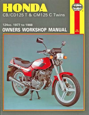 Honda CB125T, CD125T & CM125C Twins 1977 - 1988