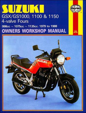 Suzuki Katana GSX1000, GSX1100, GS1000, GS1100 & GS1150 1979 - 1988