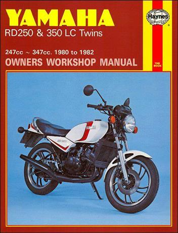 Yamaha RD250, RD350 Liquid-Cooled Twins 1980 - 1982