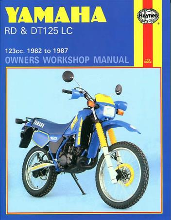Yamaha RD & DT125LC 1982 -1987 Haynes Owners Service & Repair Manual