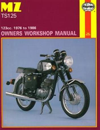 MZ TS 125 (1976 - 1986) Haynes Owners Service & Repair Manual