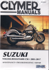 Suzuki Volusia 2001 - 2004 and Suzuki Boulevard C50 2001 - 2017Clymer Owners Service a Repair Manual