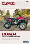 Honda TRX350 Rancher 2000 - 2006 Clymer Owners Service & Repair Manual