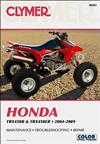 Honda TRX450R & TRX450ER ATV 2004 - 2009 Clymer Owners Service & Repair Manual